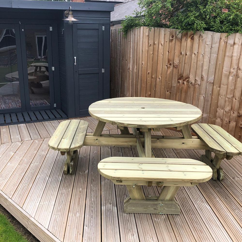 Oxford picnic table hire